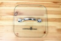 """Copper Chef 7 7/8"""" x 7 7/8"""" Square Replacement Lid"""