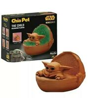 The Child Star Wars The Mandalorian Baby Yoda Chia Pet, Terra Cotta