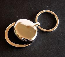 Super Elegant Bottle Opener Key Ring ~ Chrome Plated - NEW in Poly Bag