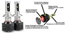 KIT LED H7 PHILIPS COPPIA LAMPADINE LED OMOLOGATE PHONOCAR ORIGINE ITALIA