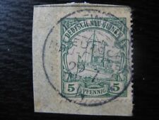 "NEW GUINEA GERMAN COLONY Mi. #8 Kaiser Yacht stamp w/ scarce ""Kaewieng"" cancel!"