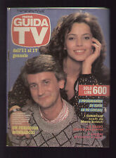 GUIDA TV 2/1987 MAGICA MAGICA EMI MAHO NO SUTA MAJIKARU EMI EVLYN PERSIA HAYAMI