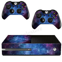 Nebula Skin Decal Sticker Wrap For Microsoft Xbox One Console + 2 Controllers U