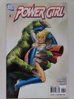 POWER GIRL #4 (2009) DC COMICS GRAY! PALMIOTTI! AMANDA CONNER COVER & ART! NM