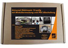 Universal Elektrosatz 13-polig E-Satz Anhängerkupplung Steckdose+AHK-Steuergerät
