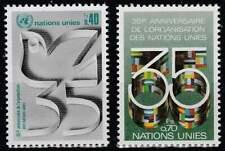 Nations Unies - Geneve postfris 1980 MNH 92-93 - UN 35 Jaar
