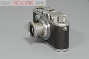 Leica IIIa Body w/ Leitz Elmar Lens f3.5 f=5cm (ADOOR). Graded: EXC+ [#10036]