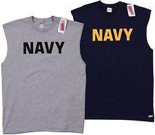 Soffe US Navy Military PT Army Marines Sleeveless T-shirt Tank Top Tee New L-2XL