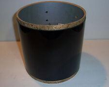 """Gretsch USA Custom Drum Shell 6 Ply Tom 8""""x8"""" Black Nitron 5 Lug"""