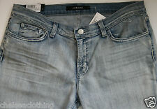 "Auth NEW J BRAND Blue Jeans T29/L24"" Aoki Afterlife Low-Rise Cropped Stonewashed"