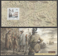 9bc574910179 FRANCE - CANADA   2008 JOINT ISSUE MNH S S in folder