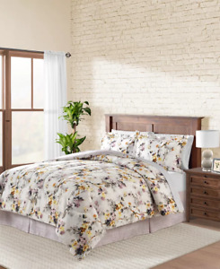 Fairfield Square Haley Reversible 6-Pc.Twin Extra Long Comforter NIP