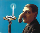 RENE MAGRITTE Philosopher's Lamp (1936) (62x52), CANVAS, POSTER FREE P&P