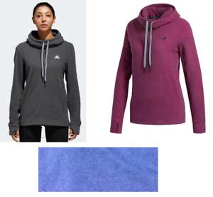 Adidas Women's Fleece Hooded Sweatshirt, DW4155,