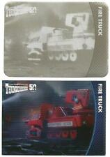 Thunderbirds 50 Years Printing Plate for Base Card #52 Fire Truck