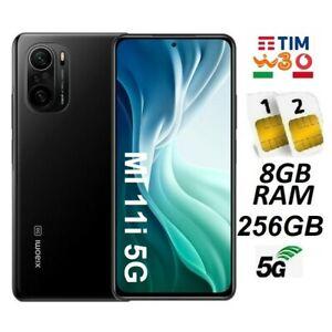 XIAOMI MI 11i 5G DUAL SIM 256GB 8GB RAM BLACK ITALIA BRAND