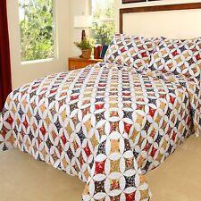 Lavish Home Cassandra Printed 2-Piece Quilt Set - Twin