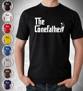 The Conefather Ice Cream Man Gift T Shirt