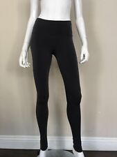 EVA VARRO NWT Charcoal Grey Double Layered Long Leggings Pants Size Small NEW