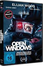 Open Windows (DVD, 2015) Neuwertig, Sehr Gut, Elijah Wood