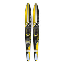 O'Brien Watersports Adult 68 inches Performer Combo Water skis, Yellow and Black