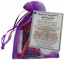 Nursery Teacher Survival Kit - unique christmas or end of year gift