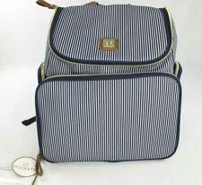 Bananafish Striped Breast Pump And Accessory Backpack Diaper Bag