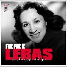 RENEE LEBAS - LA CHANTEUSE IRREALISTE (2 CD) - NEUF