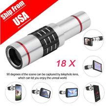 For Universal 18X Zoom Phone Telephoto Camera Lens Tripod for iPhone Android BE