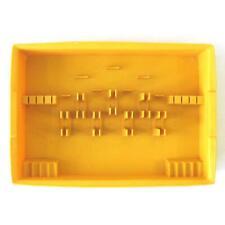 New listing Vintage Ekco Cutlery Flatware Silverware Tray Yellow Plastic