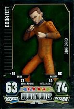 Star Wars Force Attax Series 3 Card #222 Boba Fett