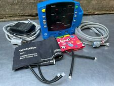 -NEW BATTERY- GE Dinamap Carescape V100 Patient Monitor, NIBP Hose, Power, CUFFS