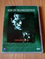 Son of Frankenstein - Basil Rathbone - New DVD