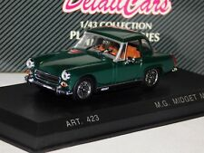 MG MIDGET MKIV MK4 GREEN WITH HARD TOP 1969 DETAIL CARS ART 423 1/43