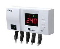 Regelgerät Steuergerät CS-08 für Pumpen,Pufferspeicher Temperaturdifferenzregler