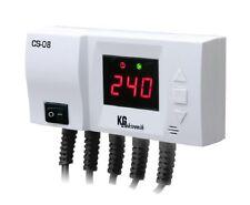 Steuerung Steuergerät CS-08 für Pumpen Pufferspeicher Temperaturdifferenzregler