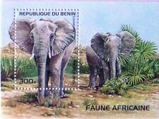 REPUBLIC OF BENIN - 1995 - Animals - African Elephant (Loxodonta africana)--#779