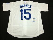"""Austin 'Scott' Barnes Signed Jersey """"1st Career HR/MLB Debut/Grand Slam"""" BAS 362"""