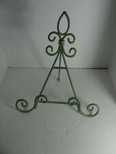 Ornate Metal Book Picture Display Stand Easel
