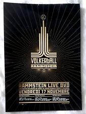 Publicité advert concert album advertising RAMMSTEIN 2006 Volkerball Dvd live