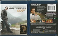 JAMES BOND 007 GOLDFINGER BLU-RAY DISC BRAND NEW SEALED