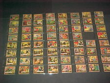 G-MEN & HEROES OF THE LAW GUM INC.1935-37 63 CARD LOT