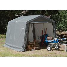 10x10x8 ShelterLogic Outdoor Shed and Storage Shelter Garage Ships Free!