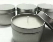 Soy Candle Making Kit 1kg wax GW464 + 10 x silver  tins, plus 10 x wicks,