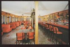 Postcard St Petersburg, Florida/FL Mook's Tavern Interior Dual View 1950's