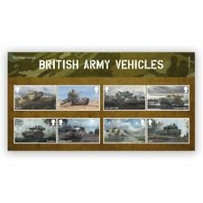More details for brand new sealed: royal mail 2021 british army vehicles stamp presentation pack