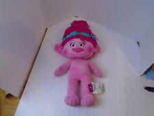 "Huge Poppy Dreamworks Trolls Plush Pink Princess Stuffed Toy Animal Doll 23"""