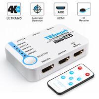 TESmart 5x1 HDMI Switch Support ARC 5 Input 1 Output Full HD1080P 4K@30Hz