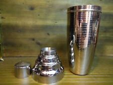 Giant Stainless Steel Cocktail Shaker Plymouth Gin