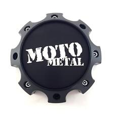 Moto Metal 976 MO989S05 Center Cap Satin Black fits 8x165 8x170 8x180 Wheels